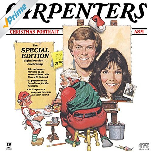 Christmas with the Carpenters cover.