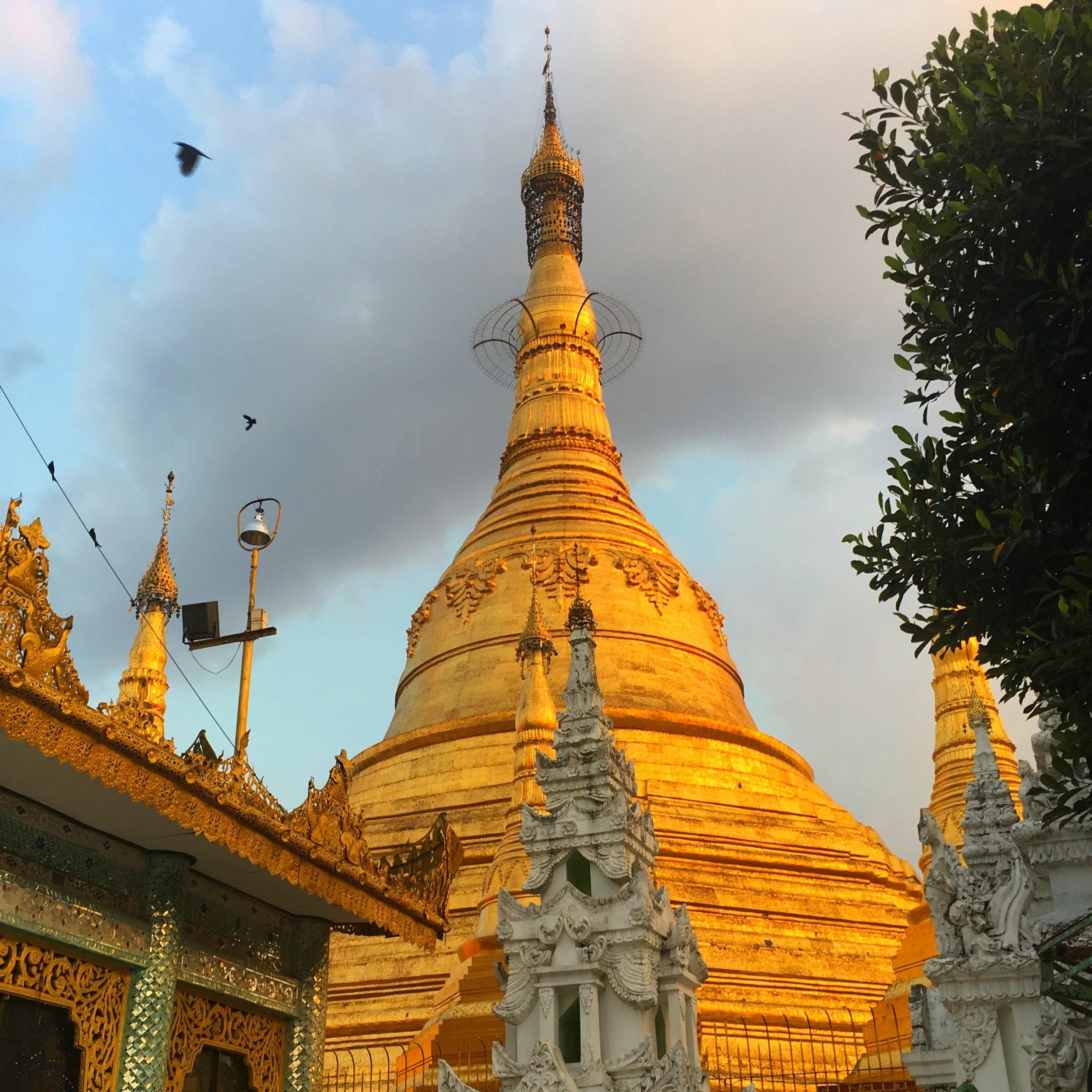 Swedagon Pagoda www.onemorestamp.com