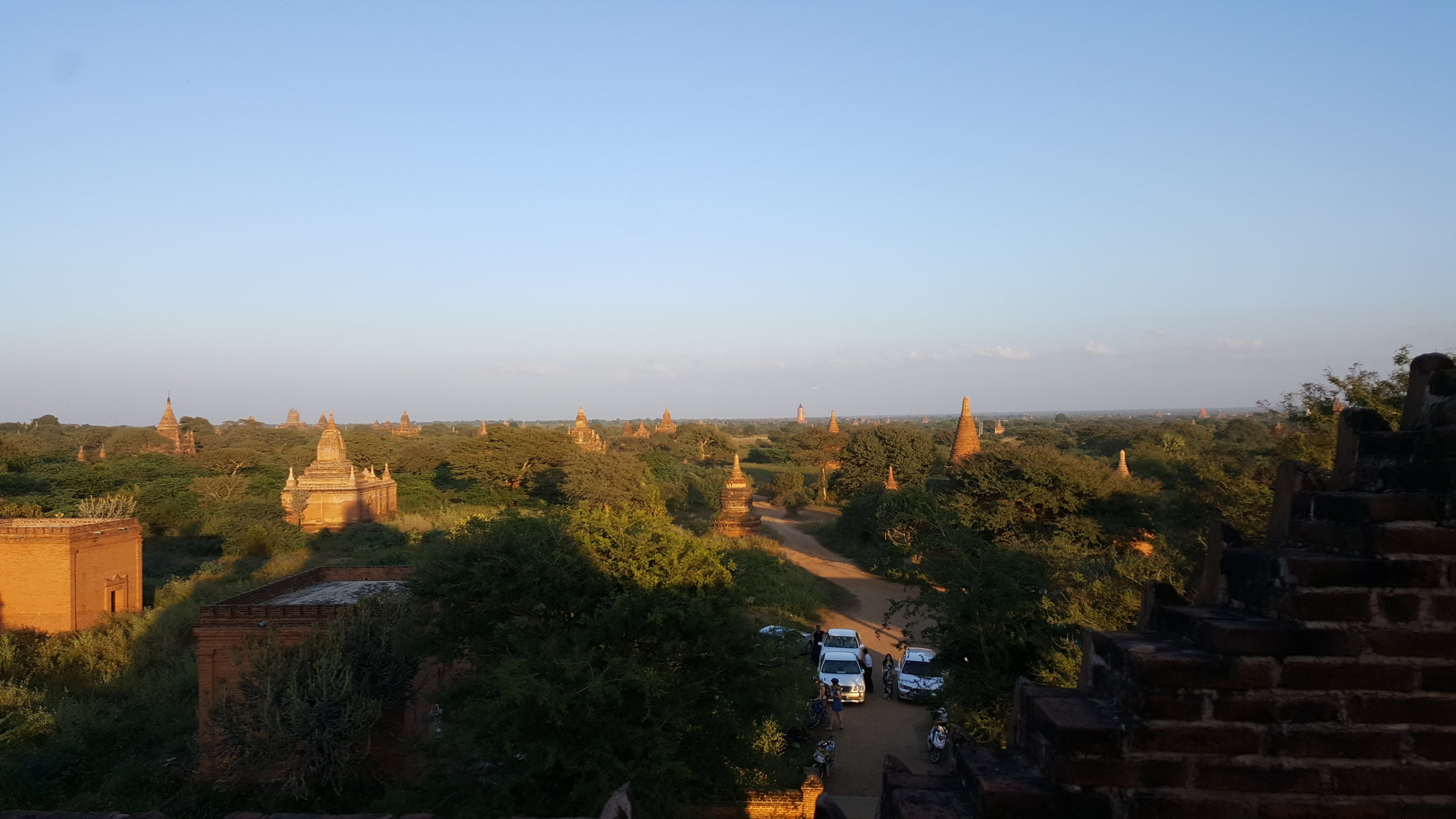 over bagan myanmar www.onemorestamp.com