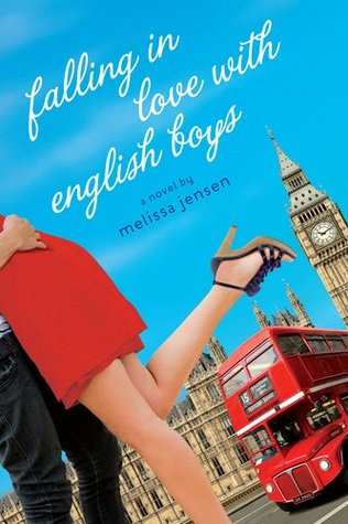 Falling in Love with English Boys by Melissa Jensen cover