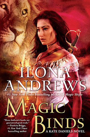 Magic Binds by Ilona Andrews cover