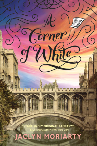 A Corner of White by Jaclyn Moriarty cover