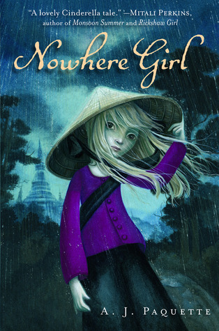 Nowhere Girl byA.J. Paquette cover