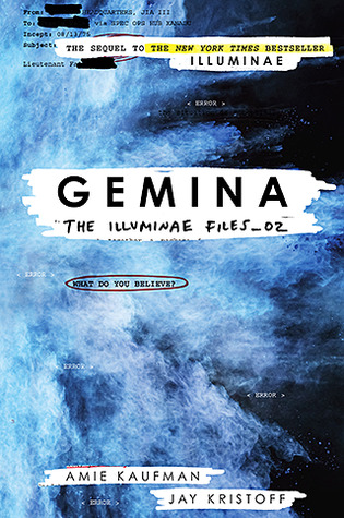 Gemina  by Amie Kaufman and  Jay Kristoff cover
