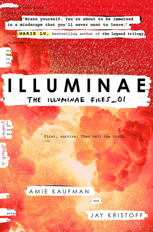 Illuminae by Amie Kaufman and Jay Kristoff cover