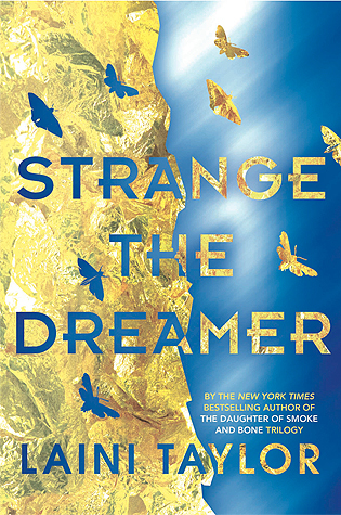 Strange the Dreamer byLaini Taylor cover