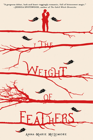 The Weight of Feathers byAnna-Marie McLemorecover