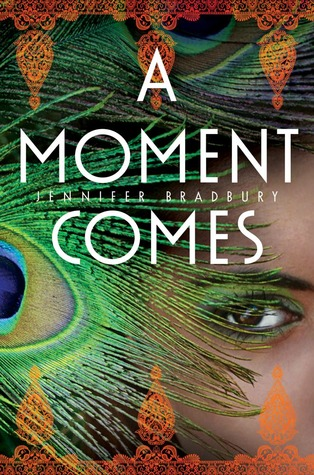 A Moment Comes by Jennifer Bradbury cover