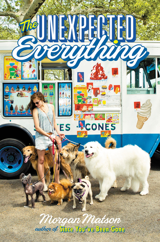 The Unexpected Everything by Morgan Matson cover