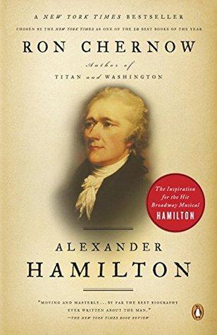 Alexander Hamilton  by Ron Chernowcover
