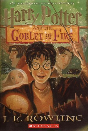 Harry Potter and the Goblet of Fire byJ.K. Rowling cover