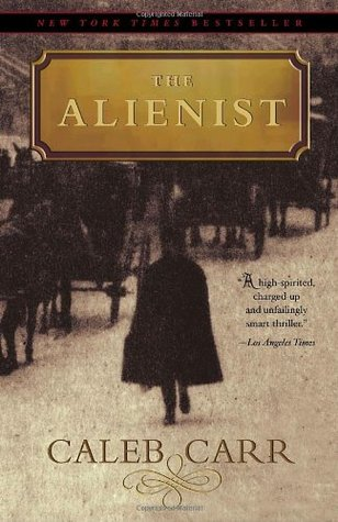 The Alienist  by Caleb Carr cover