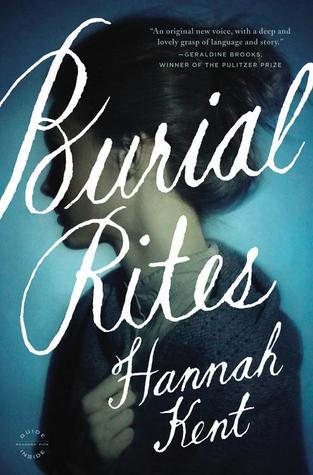 Burial Rites by Hannah Kent cover