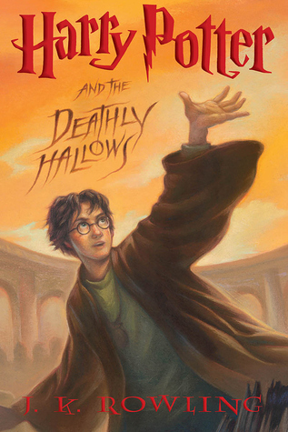 Harry Potter and the Deathly Hallows by J.K. Rowling cover