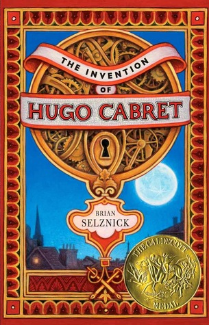 The Invention of Hugo Cabret byBrian Selznick cover
