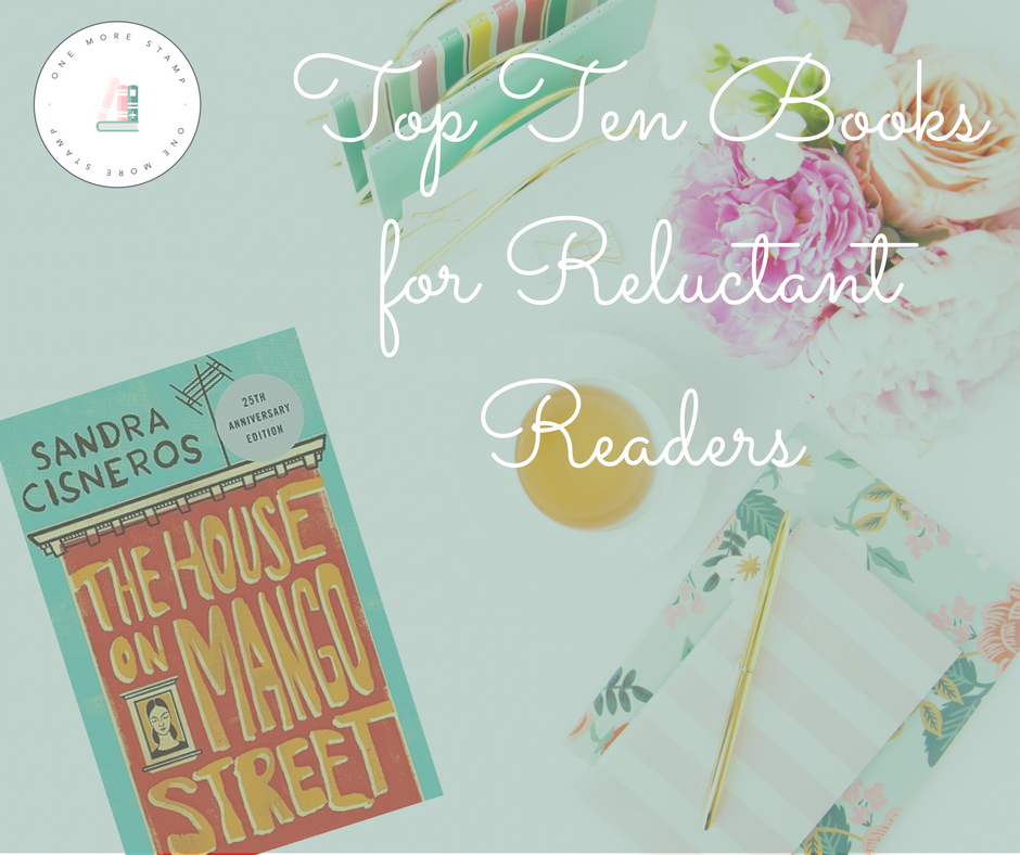 Top Ten Books for Reluctant Readers cover