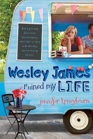 Wesley James Ruined My Life byJennifer Honeybourncover