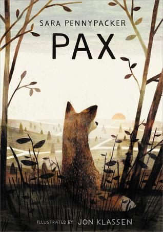 Pax bySara Pennypacker cover