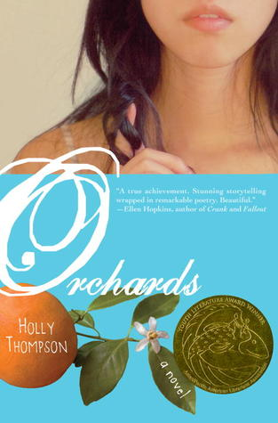 Orchards by Holly Thompson cover