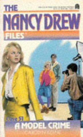 A Model Crime byCarolyn Keene cover