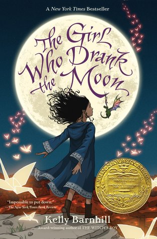 The Girl Who Drank the Moon byKelly Barnhill cover