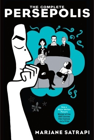 The Complete Persepolis (Persepolis #1-4) by Marjane Satrapi cover