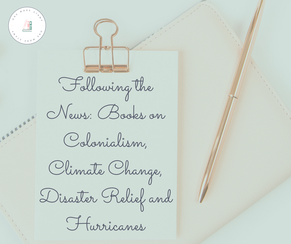 Following the News: Books on Colonialism, Climate Change, Disaster Relief and Hurricanes
