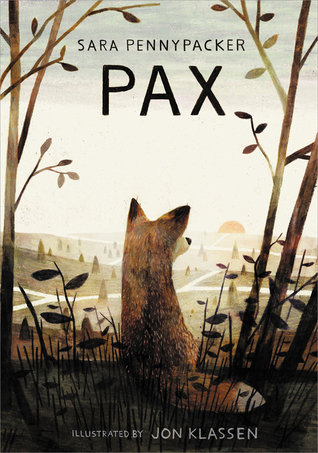 Pax by Sara Pennypacker cover