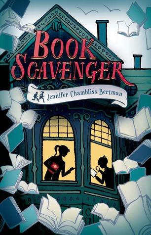 Book Scavenger byJennifer Chambliss Bertman cover