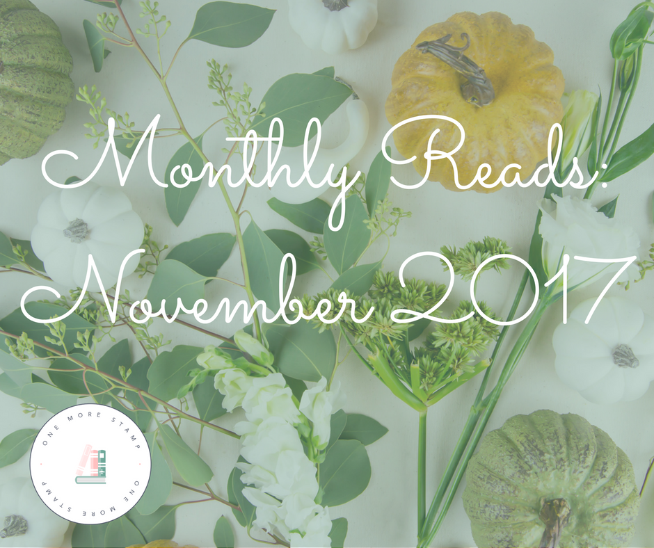 Monthly Reads: November 2017