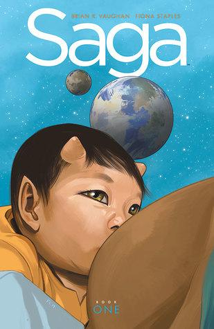 Saga: Book One by Brian K. Vaughan,  Fiona Staples