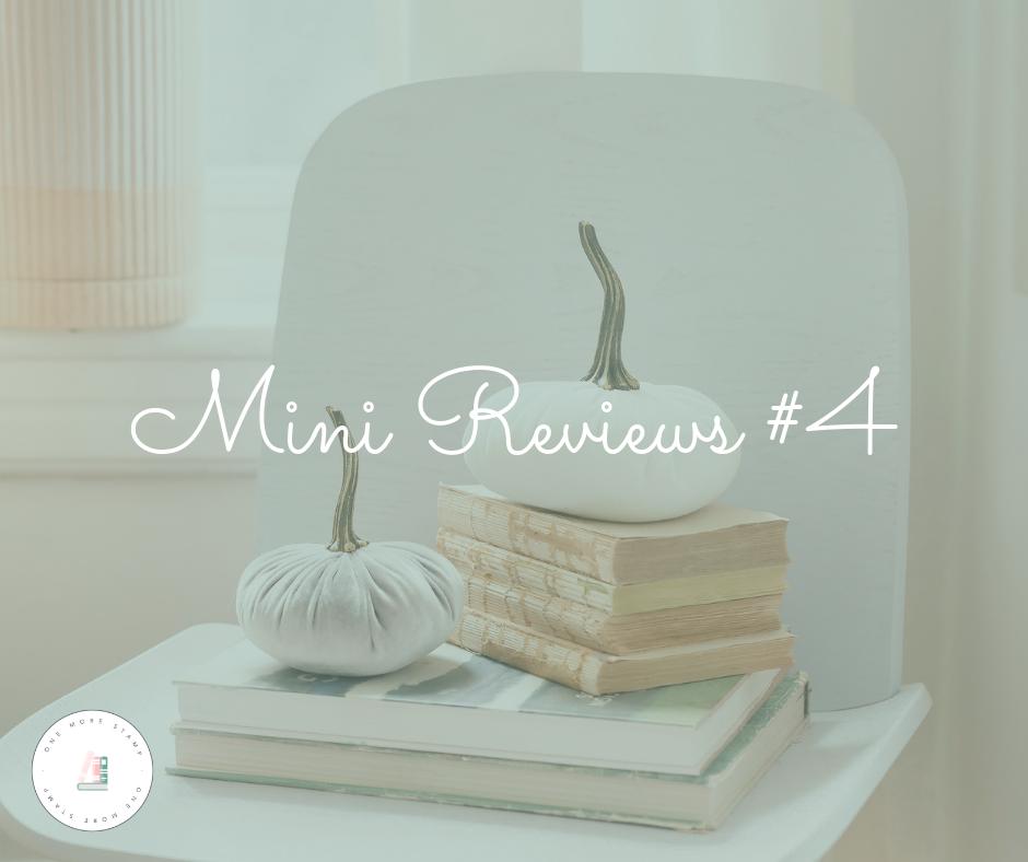 Mini Reviews #4 www.onemorestamp.com