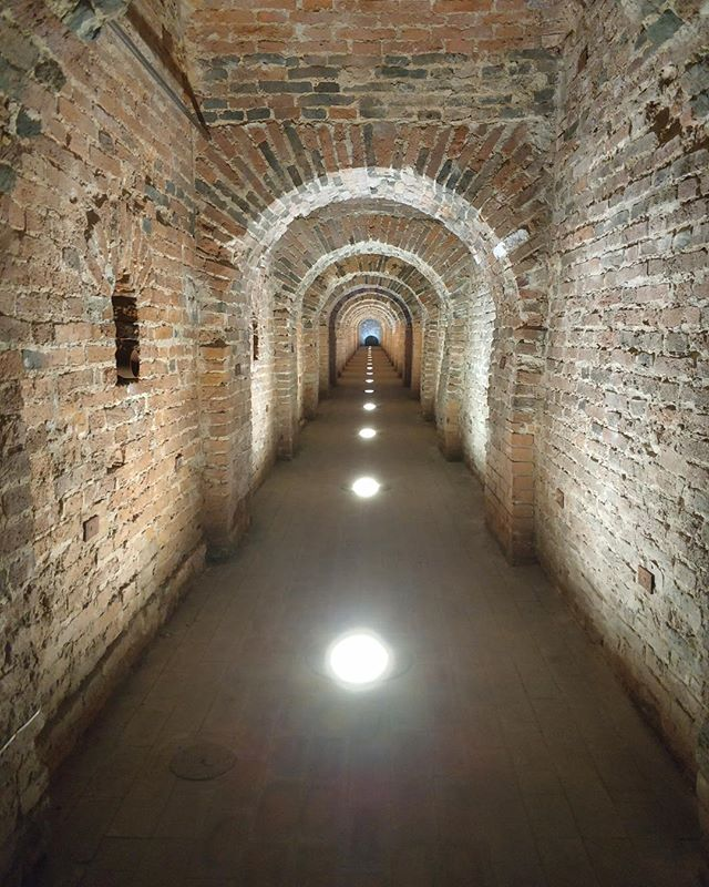 A hidden passage in the Peter and Paul Complex. Very sneaky. #saintpetersburg #russia #peterandpaulfortress #secretpassage #travel #wanderlust #1ms2019