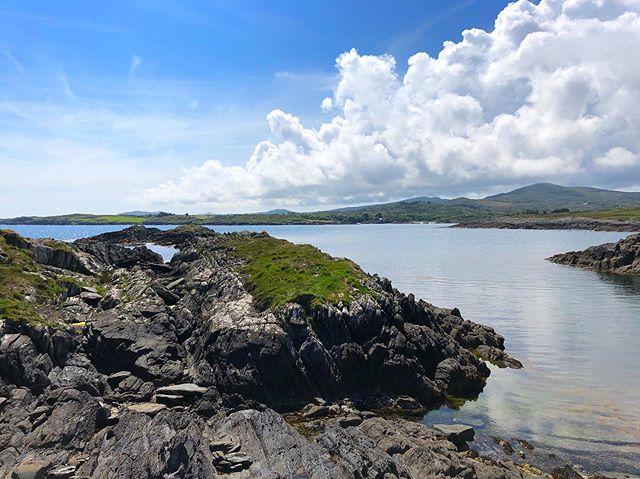 Ireland looking pretty. #ireland #bluesky #travel #wanderlust #roadtrip #1ms2019