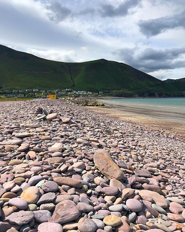 Rock beaches spark joy. But are hard to walk on. It is possible I fell. Stop judging me. #rossbeighbeach #beach #ireland #rocks #travel #roadtrip #wanderlust #1ms2019