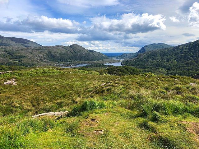 Don't hate Ireland because she is beautiful. . . . #ringofkerry #ireland #mollsgap #theviewfromhere #travel #wanderlust #1ms2019