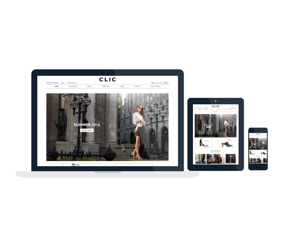 CLIC Lifestyle Brand E-commerce Store