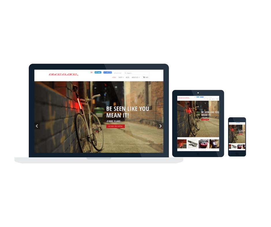 Fibre Flare Brand E-commerce Store