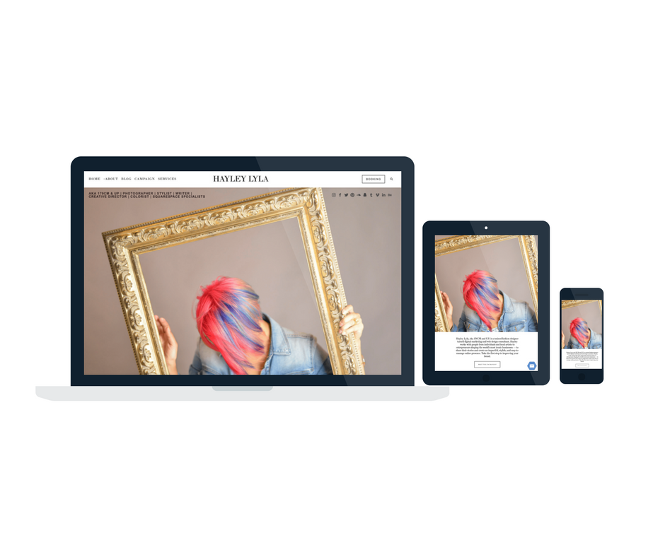 Hayley Lyla Portfolio Website