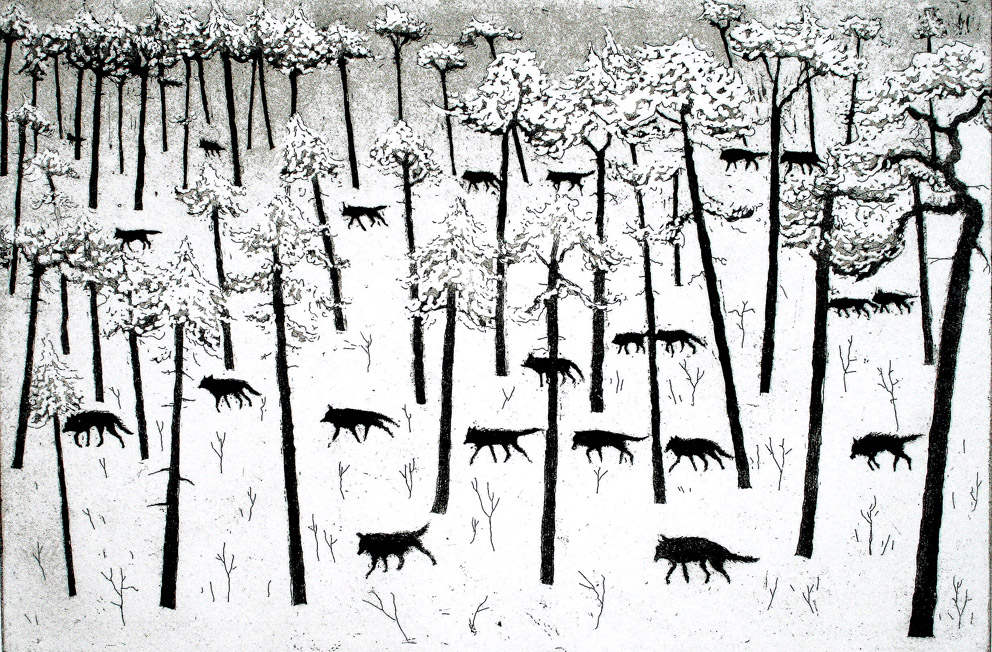 Tim Southall, Hunters In The Snow