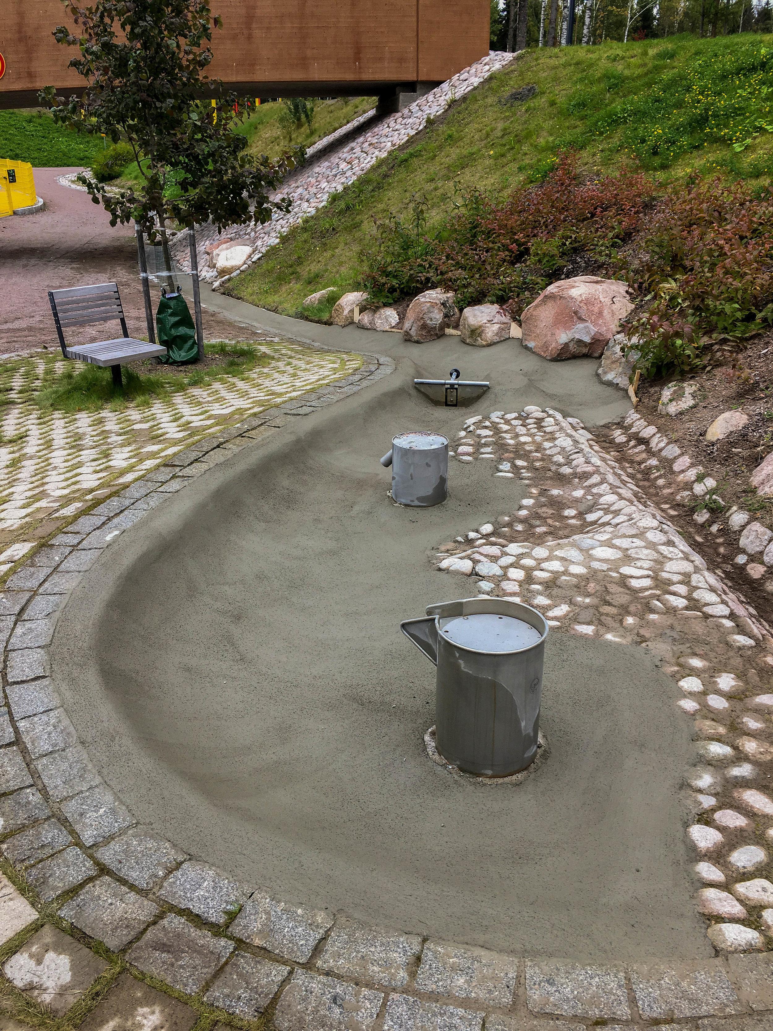 Kivistön suihkulähde, Vantaa