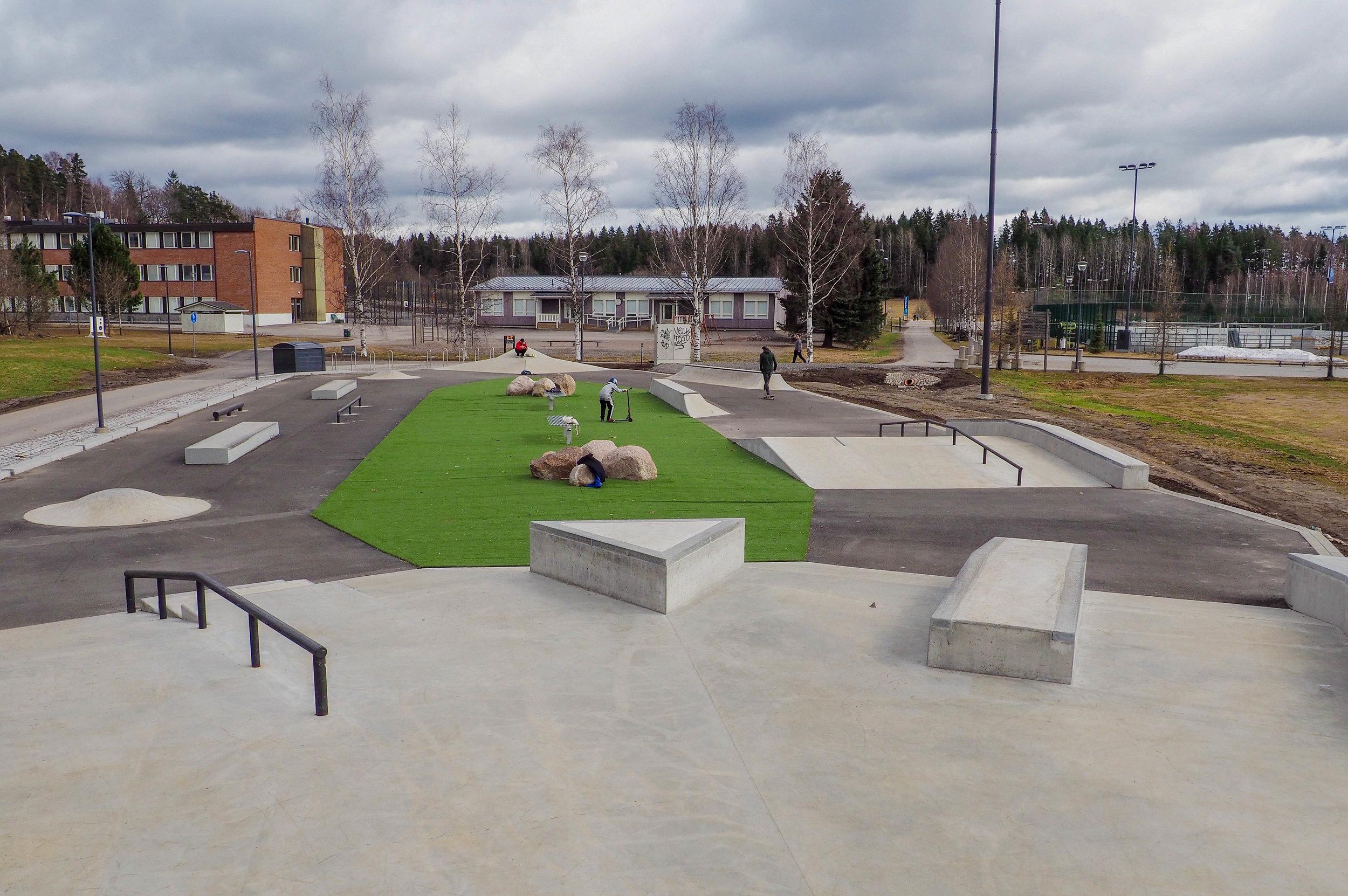 Hakunilan urheilupuisto, Vantaa