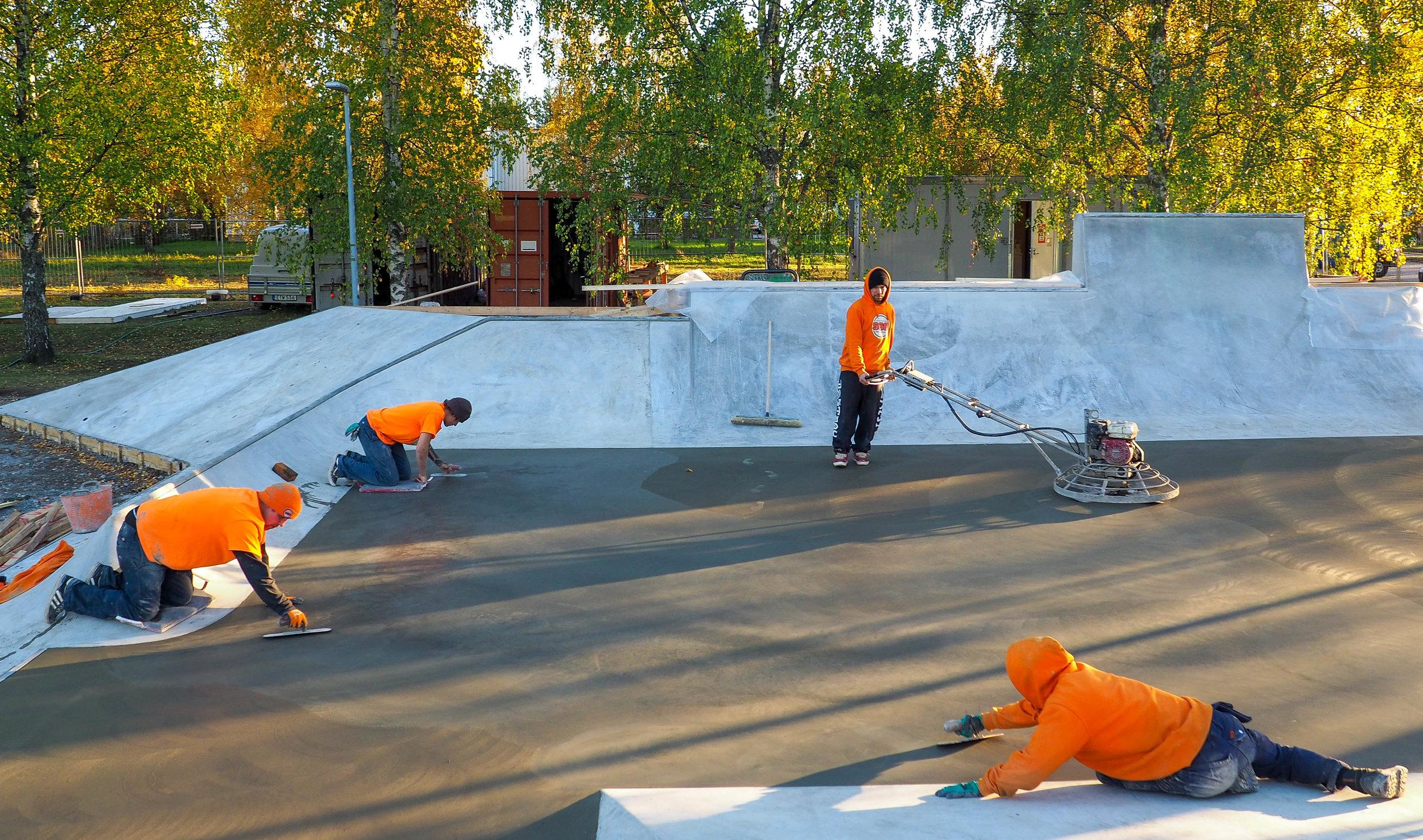 Beaver Concrete X Suomen Skeittibetoni