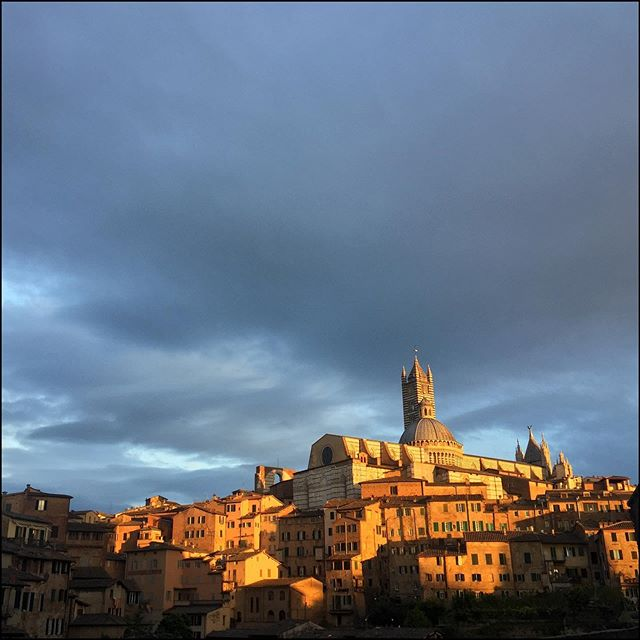 Siena at sunset doesn't need filters...