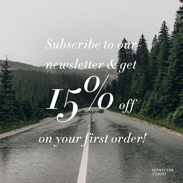 Now you can subscribe to our newsletter and get 15% on your first order! :) hope to see you at our store soon! #cofl #coflnorway #conductoroflight #promo #code #15% #reflective #tweed #button #mailinglist #newsletter #accessories #road #forest #fashion