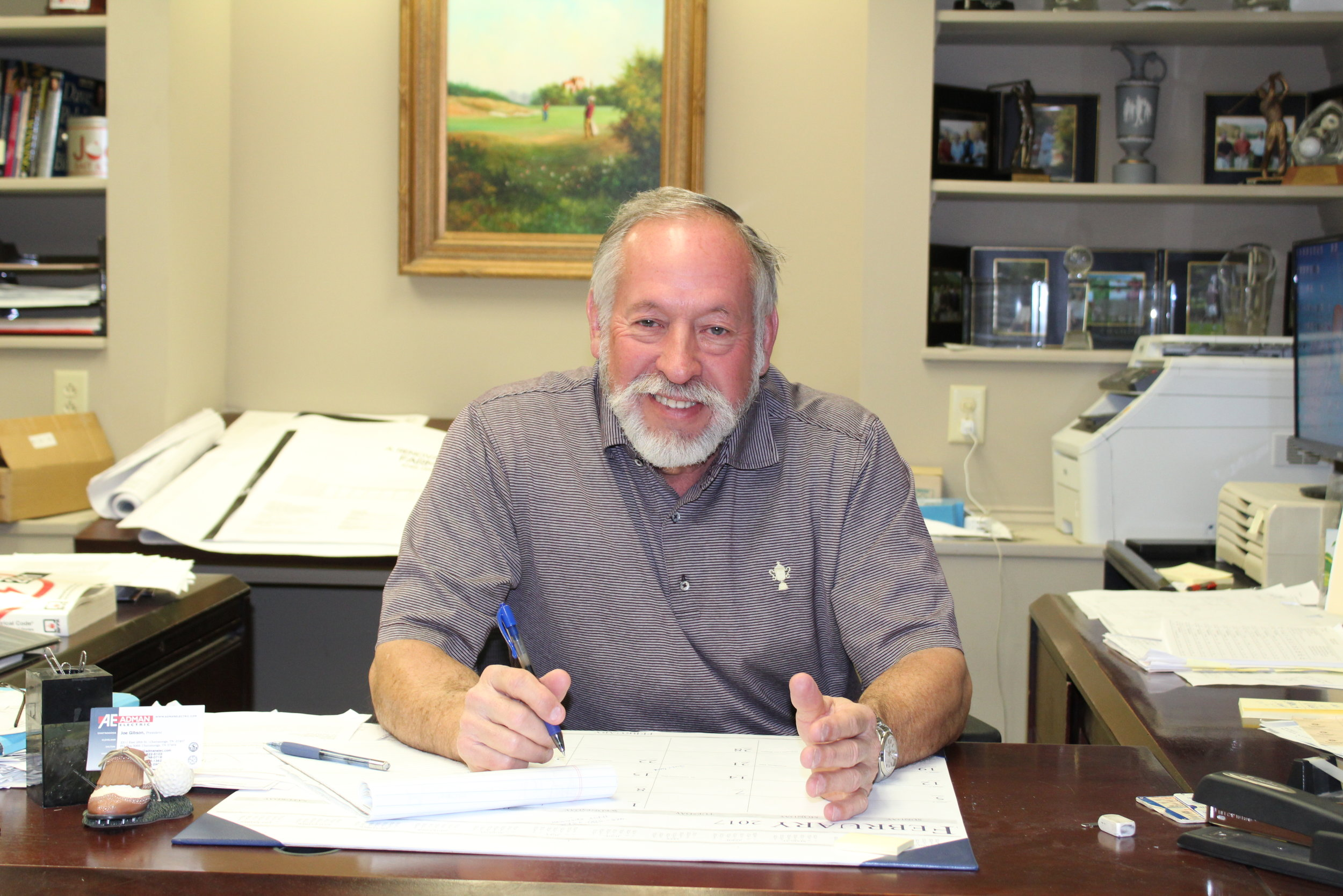 Joe Gibson  CEO   E-mail   JGibson@admanelectric.com   Phone  423/622-5103  Fax  423/698-0716  Mobile  423/595-1362