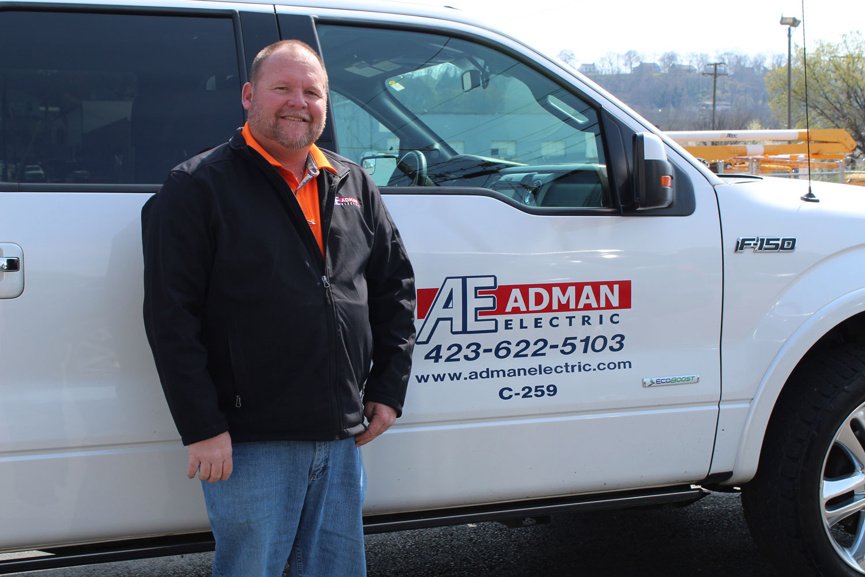 Danny Blair  Fleet Manager   E-mail   DBlair@admanelectric.com    Phone  423/622-5103  Fax  423/698-0716  Mobile  423/595-5016