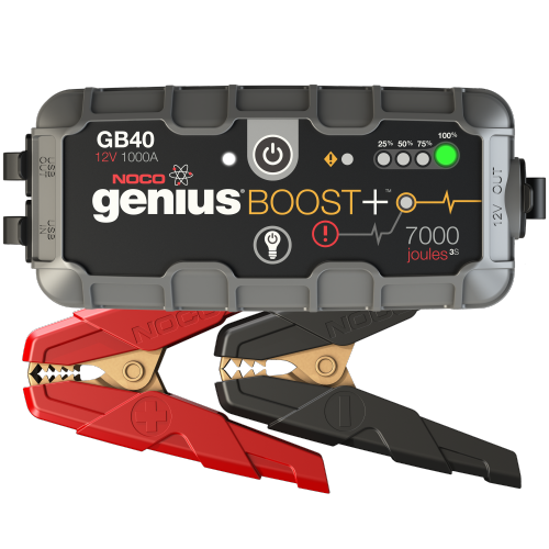 1,000 Amp UltraSafe Lithium Jump Starter - • Compact, yet powerful lithium jump starter rated at 1,000 Amps (7,000 Joules3S) - up to 20 jump starts on a single charge• An ultra-safe and mistake-proof design with spark-proof technology and reverse polarity protection, which allow it to safely connect to any battery• An ultra-bright 100 lumen LED flashlight with 7 light modes, including SOS and emergency strobe• Recharge your personal devices on the go, like smartphones, tablets, e-watches and more - up to 4 smartphone recharges• Designed for gas engines up to 6 liters and diesel engines up to 3 liters for a car, boat, truck, lawnmower and moreWe have multiple options available. Contact us about availability!