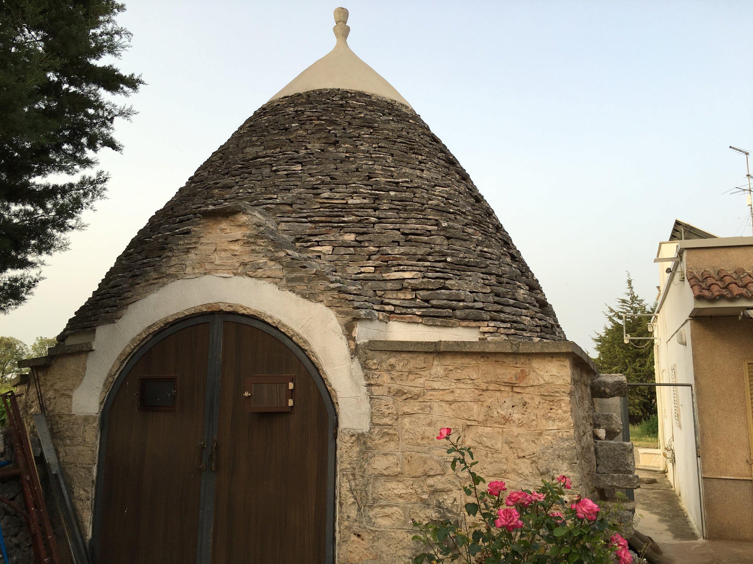 Old cellar entrance