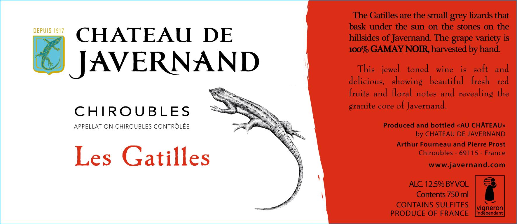 Javernand Chiroubles Les Gatilles 2014